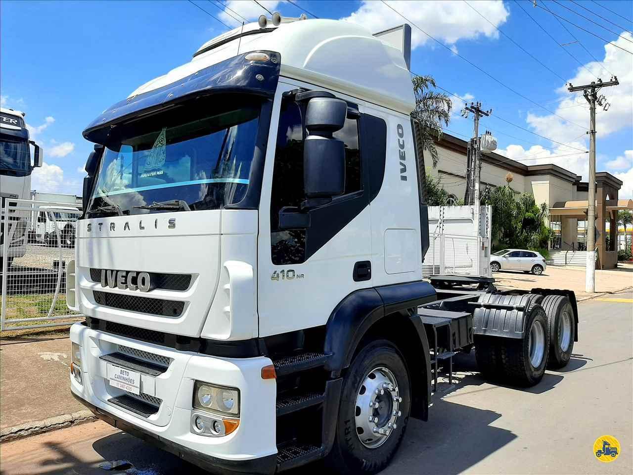 CAMINHAO IVECO STRALIS 410 Cavalo Mecânico Truck 6x2 Beto Caminhões Piracicaba AMERICANA SÃO PAULO SP