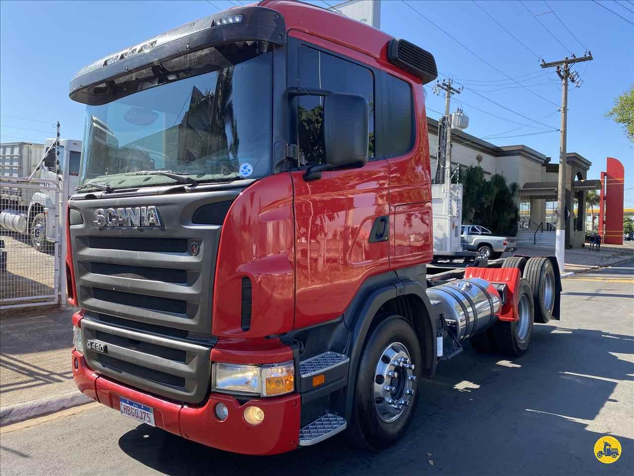 CAMINHAO SCANIA SCANIA 420 Cavalo Mecânico Truck 6x2 Beto Caminhões Piracicaba AMERICANA SÃO PAULO SP