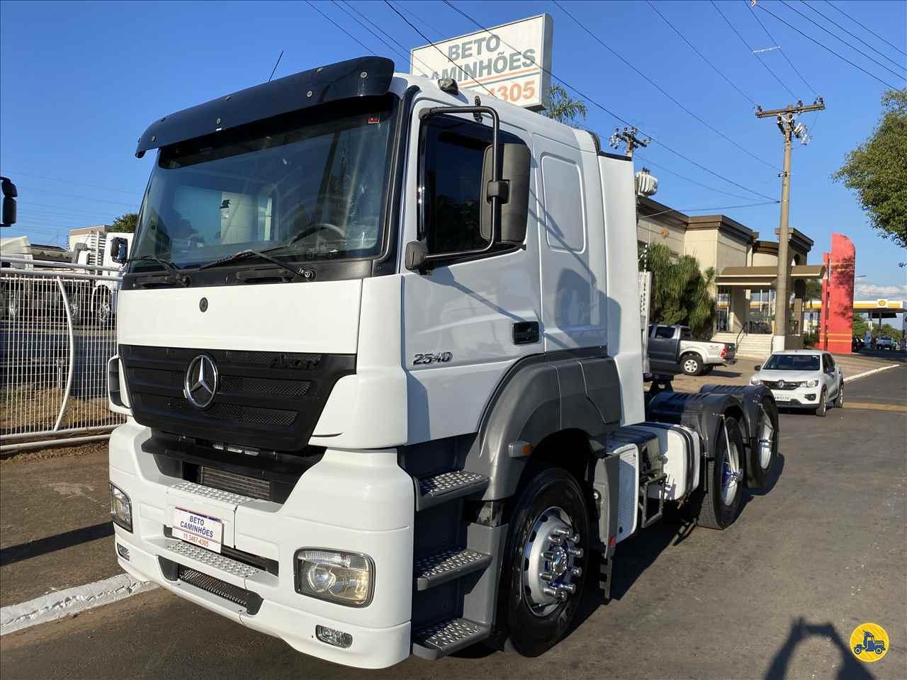 CAMINHAO MERCEDES-BENZ MB 2540 Cavalo Mecânico Truck 6x2 Beto Caminhões Piracicaba AMERICANA SÃO PAULO SP