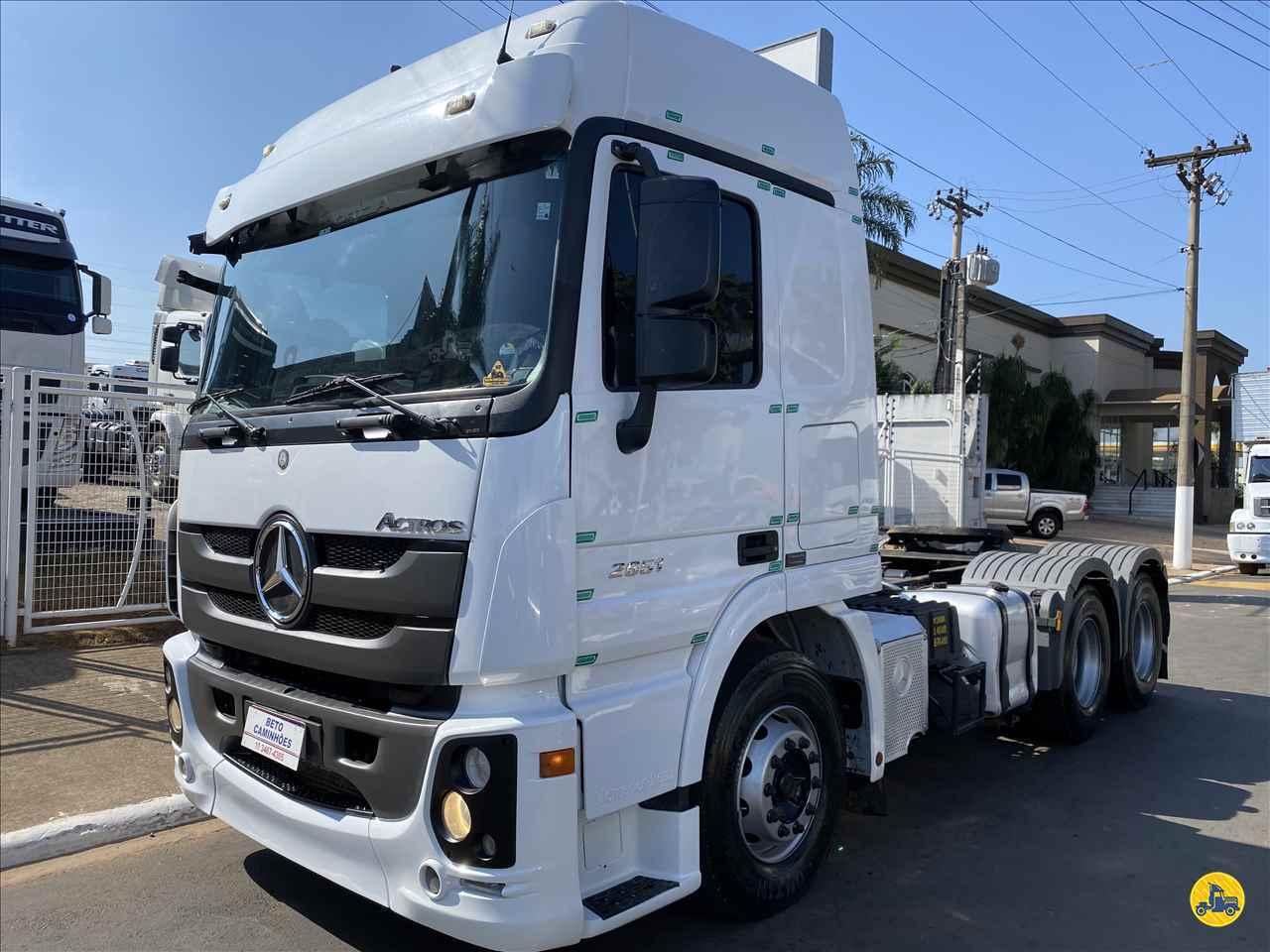 CAMINHAO MERCEDES-BENZ MB 2651 Cavalo Mecânico Traçado 6x4 Beto Caminhões Piracicaba AMERICANA SÃO PAULO SP