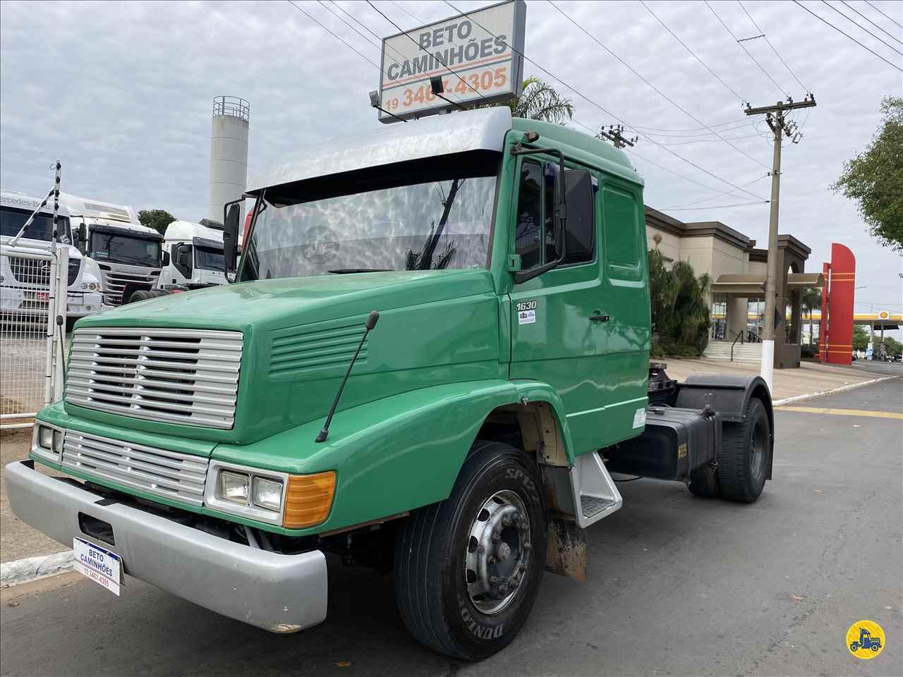 CAMINHAO MERCEDES-BENZ MB 1630 Cavalo Mecânico Toco 4x2 Beto Caminhões Piracicaba AMERICANA SÃO PAULO SP