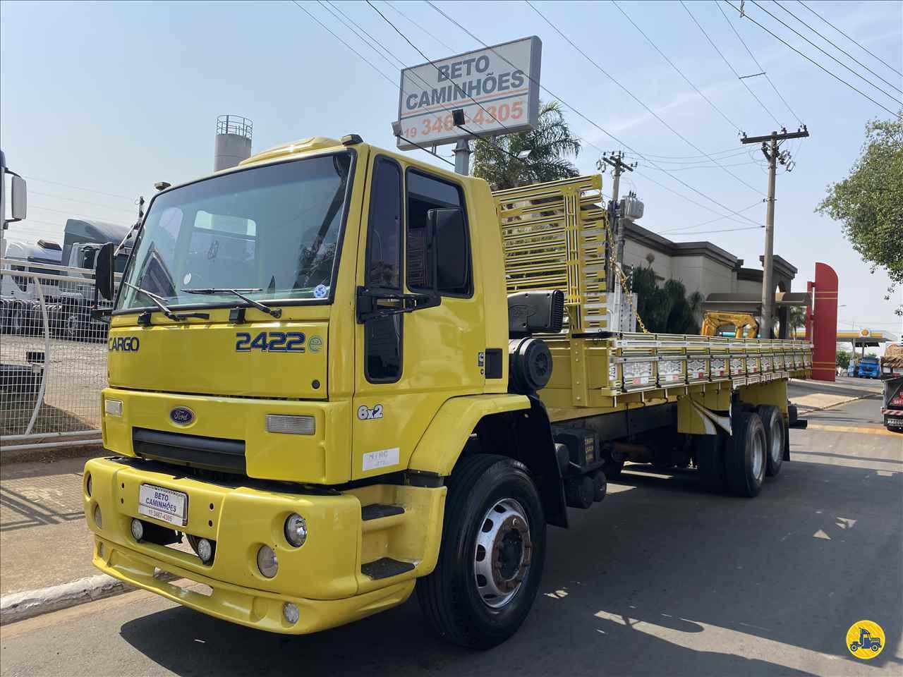 CAMINHAO FORD CARGO 2422 Carga Seca Truck 6x2 Beto Caminhões Piracicaba AMERICANA SÃO PAULO SP