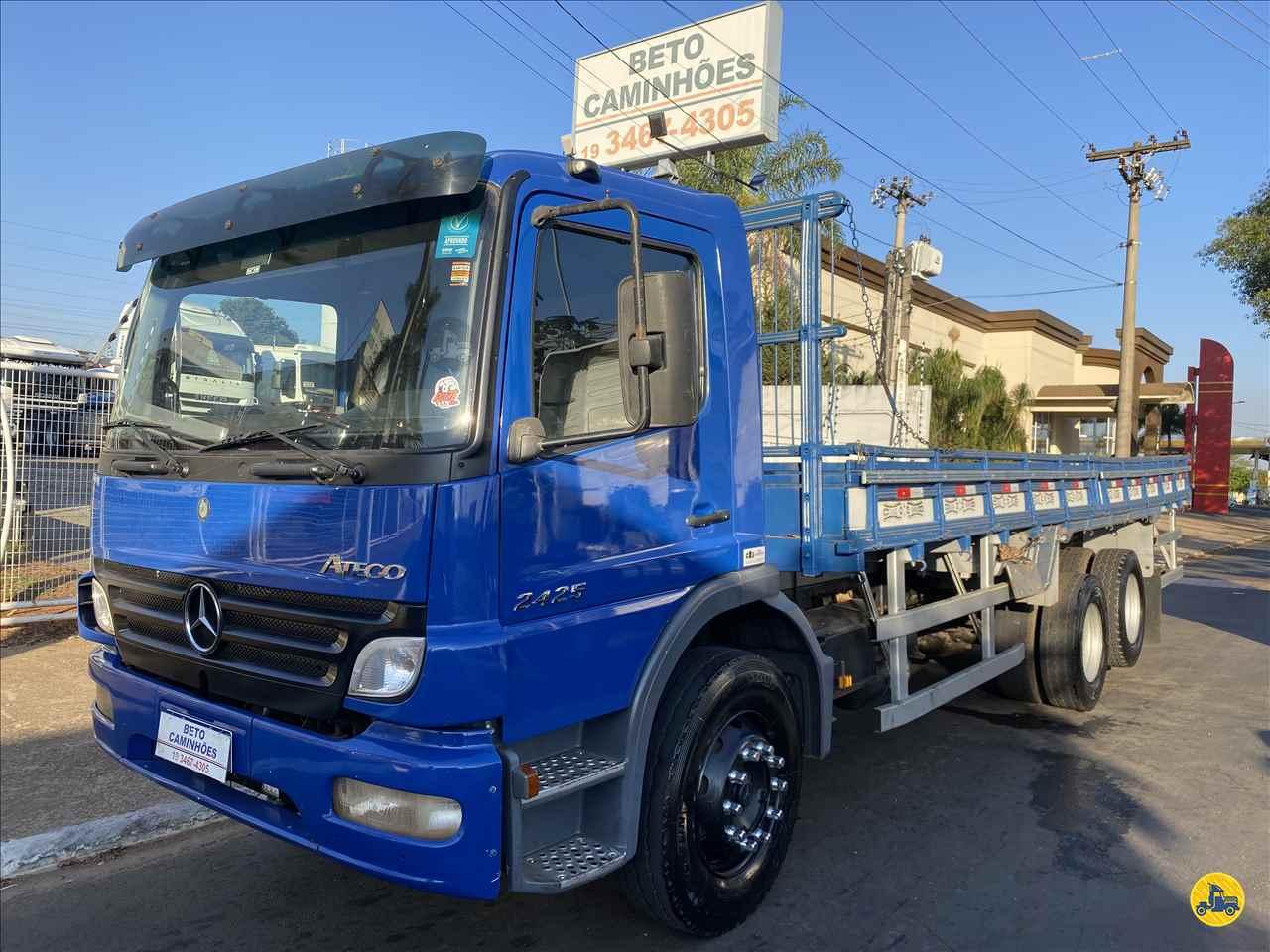 CAMINHAO MERCEDES-BENZ MB 2425 Carga Seca Truck 6x2 Beto Caminhões Piracicaba AMERICANA SÃO PAULO SP