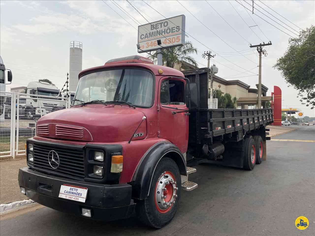 CAMINHAO MERCEDES-BENZ MB 1513 Carga Seca Truck 6x2 Beto Caminhões Piracicaba AMERICANA SÃO PAULO SP