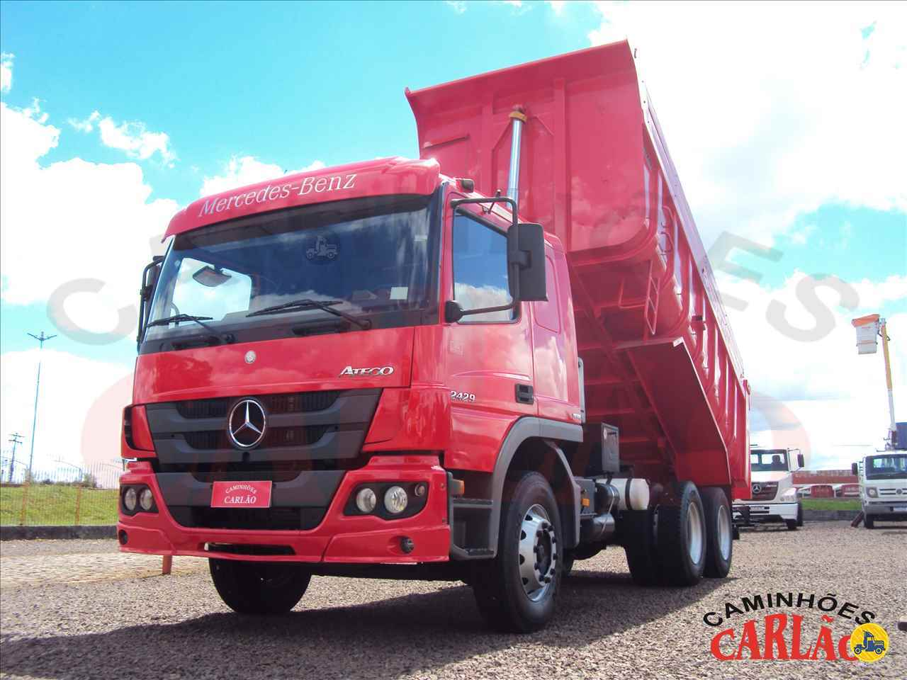 CAMINHAO MERCEDES-BENZ MB 2429 Caçamba Basculante Truck 6x2 Carlão Caminhões CARAZINHO RIO GRANDE DO SUL RS