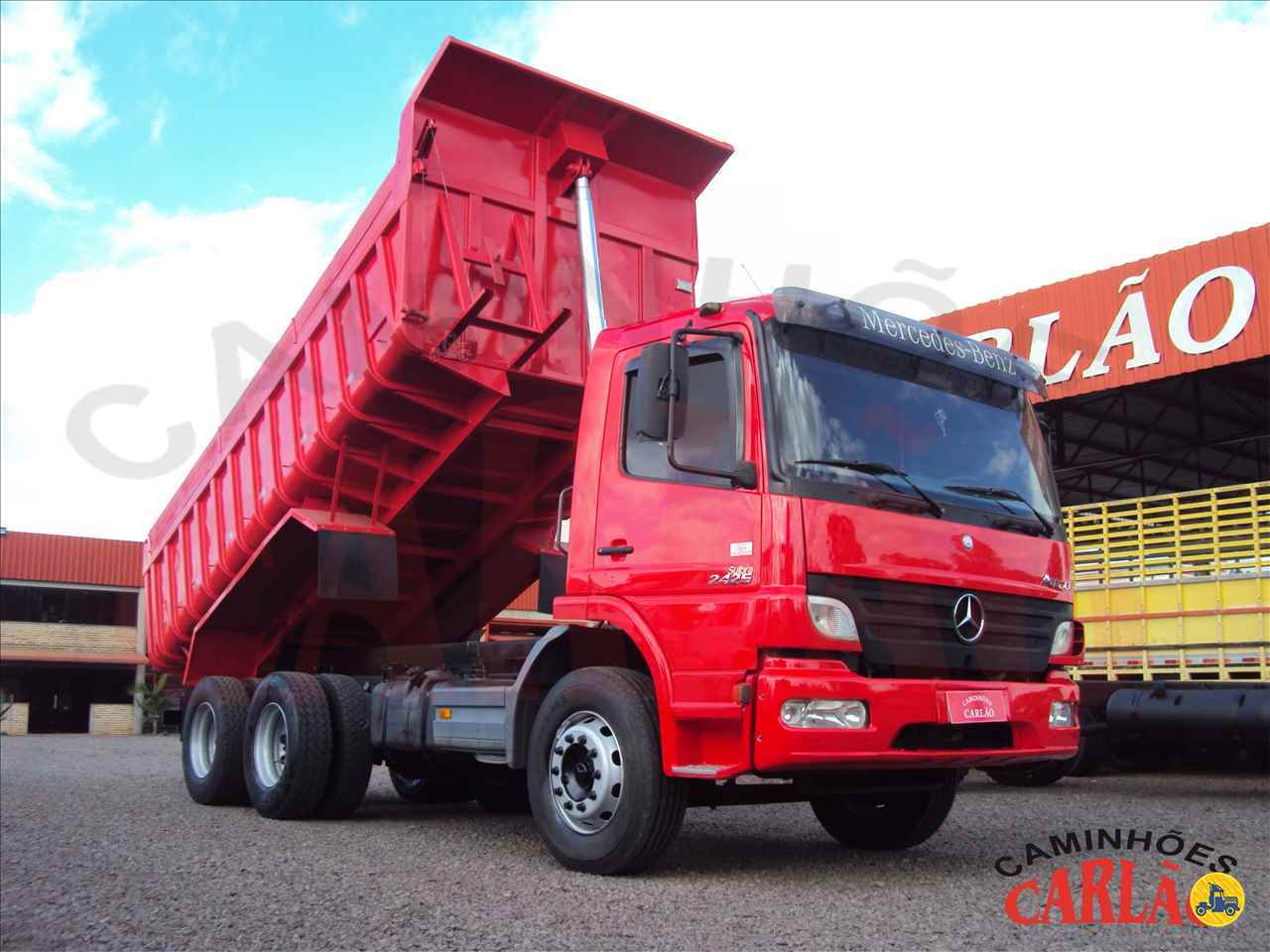 CAMINHAO MERCEDES-BENZ MB 2425 Caçamba Basculante Truck 6x2 Carlão Caminhões CARAZINHO RIO GRANDE DO SUL RS