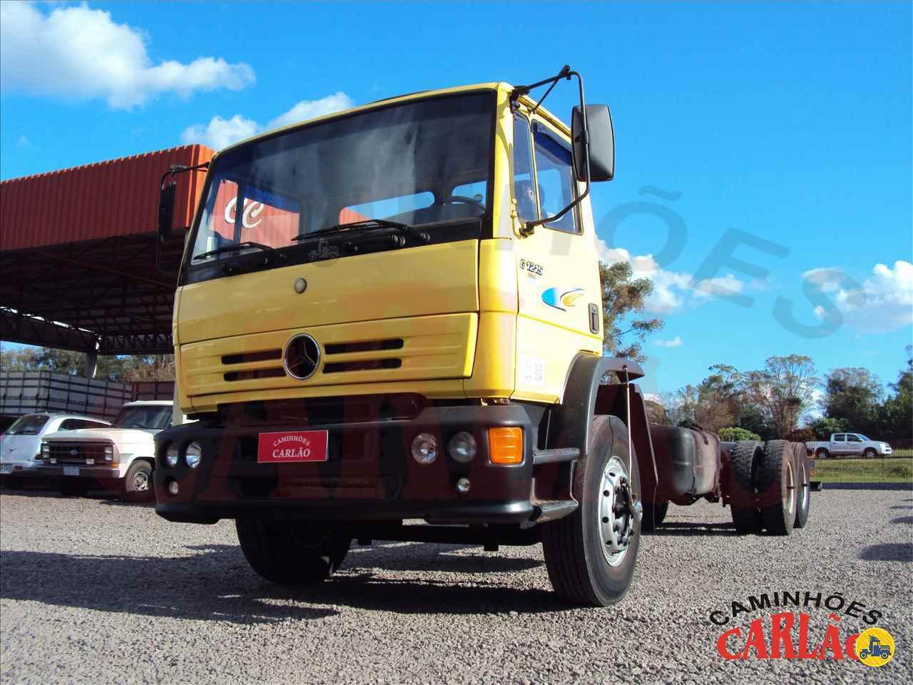 CAMINHAO MERCEDES-BENZ MB 1215 Chassis Truck 6x2 Carlão Caminhões CARAZINHO RIO GRANDE DO SUL RS