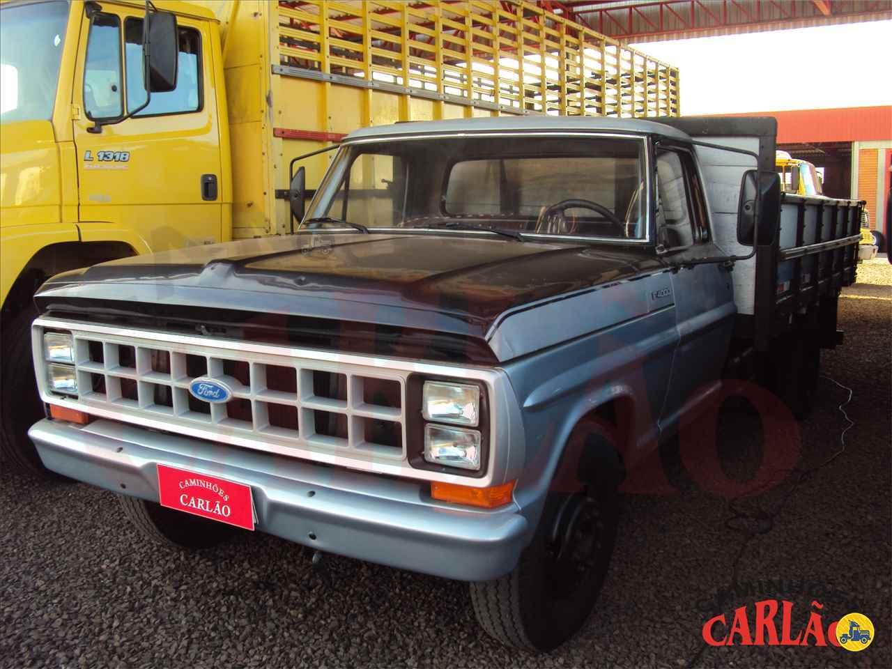CAMINHAO FORD F4000 Carga Seca 3/4 4x2 Carlão Caminhões CARAZINHO RIO GRANDE DO SUL RS