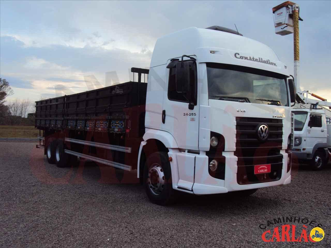 CAMINHAO VOLKSWAGEN VW 24250 Graneleiro Truck 6x2 Carlão Caminhões CARAZINHO RIO GRANDE DO SUL RS