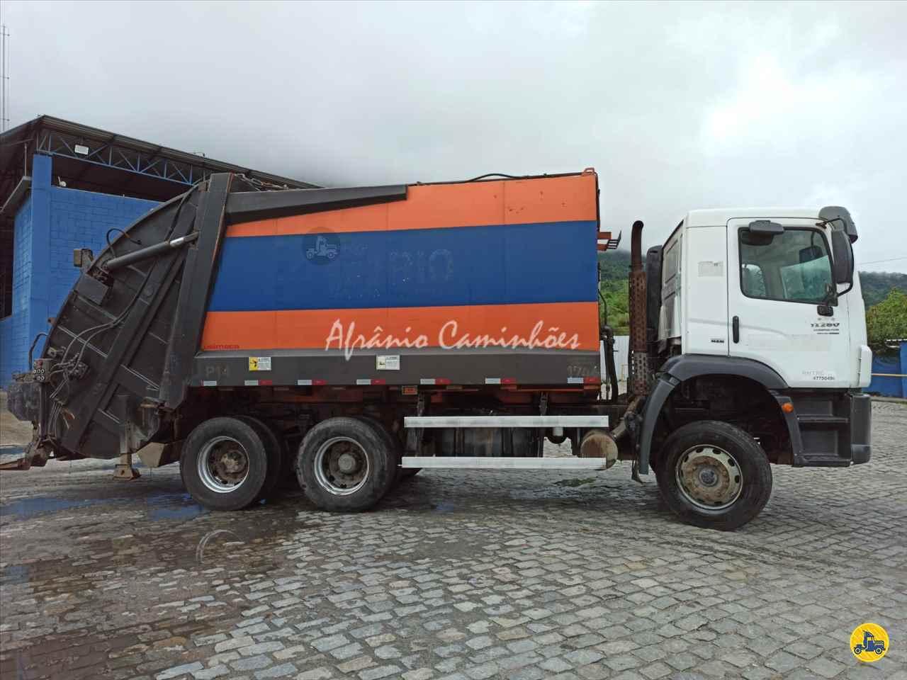 CAMINHAO VOLKSWAGEN VW 17280 Coletor de Lixo Truck 6x2 Afranio Caminhões RIO BONITO RIO DE JANEIRO RJ