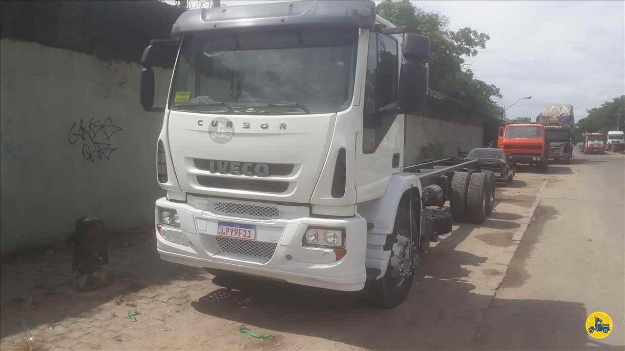 CAMINHAO IVECO CURSOR 450E33 Chassis Truck 6x2 Afranio Caminhões RIO BONITO RIO DE JANEIRO RJ