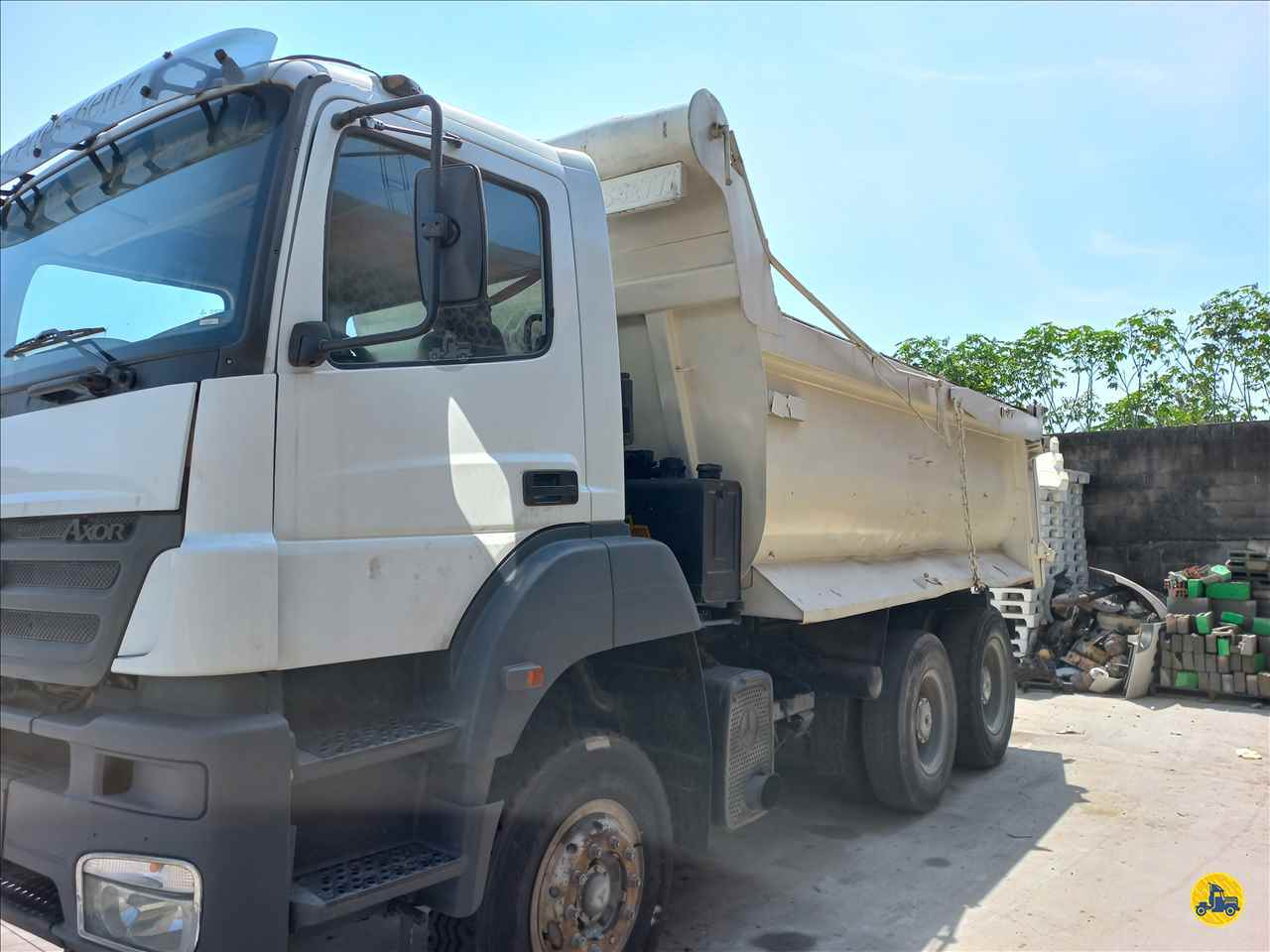 CAMINHAO MERCEDES-BENZ MB 4140 Caçamba Basculante Traçado 6x4 Afranio Caminhões RIO BONITO RIO DE JANEIRO RJ