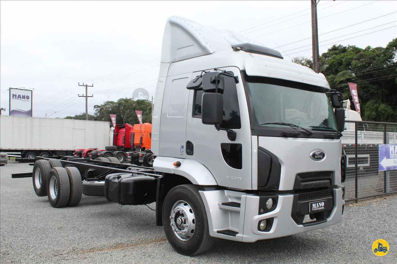 CAMINHAO FORD CARGO 2429 Chassis Truck 6x2 Mano Caminhões JOINVILLE SANTA CATARINA SC