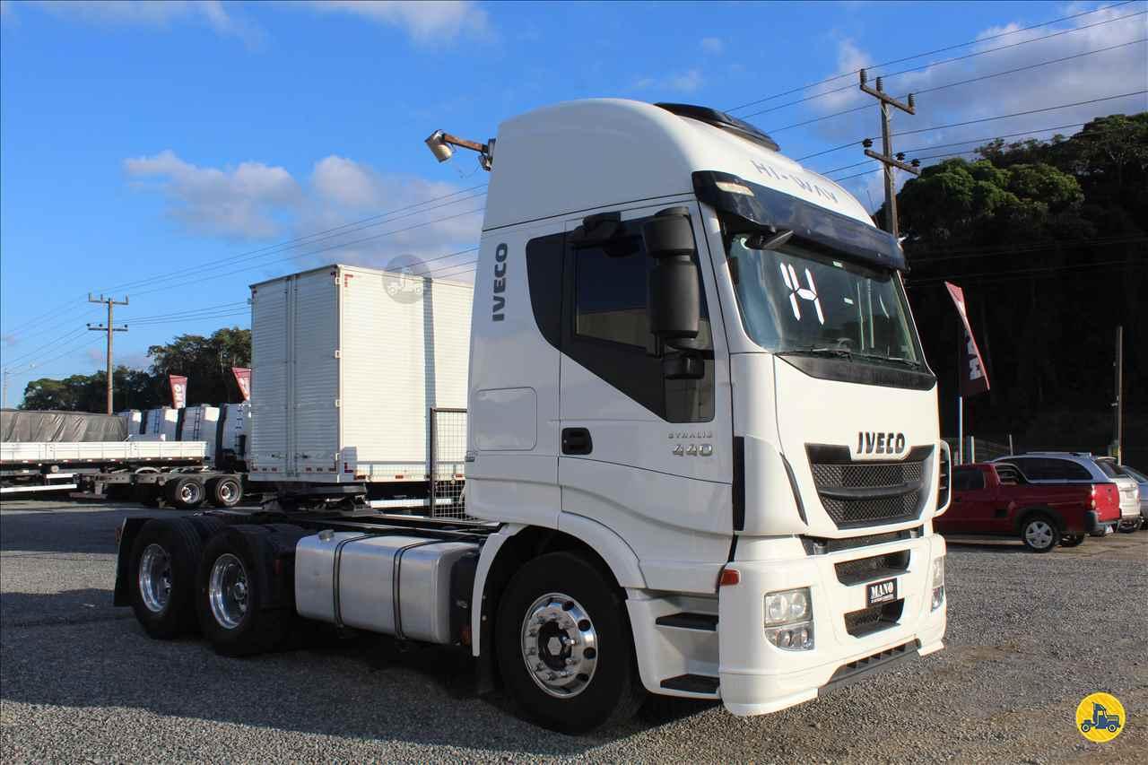 CAMINHAO IVECO STRALIS 440 Cavalo Mecânico Truck 6x2 Mano Caminhões JOINVILLE SANTA CATARINA SC