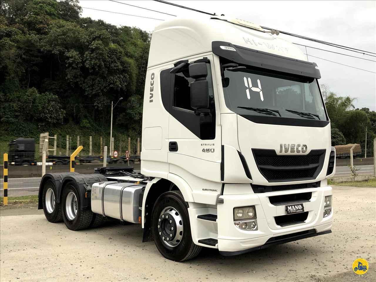 CAMINHAO IVECO STRALIS 480 Cavalo Mecânico Truck 6x2 Mano Caminhões JOINVILLE SANTA CATARINA SC
