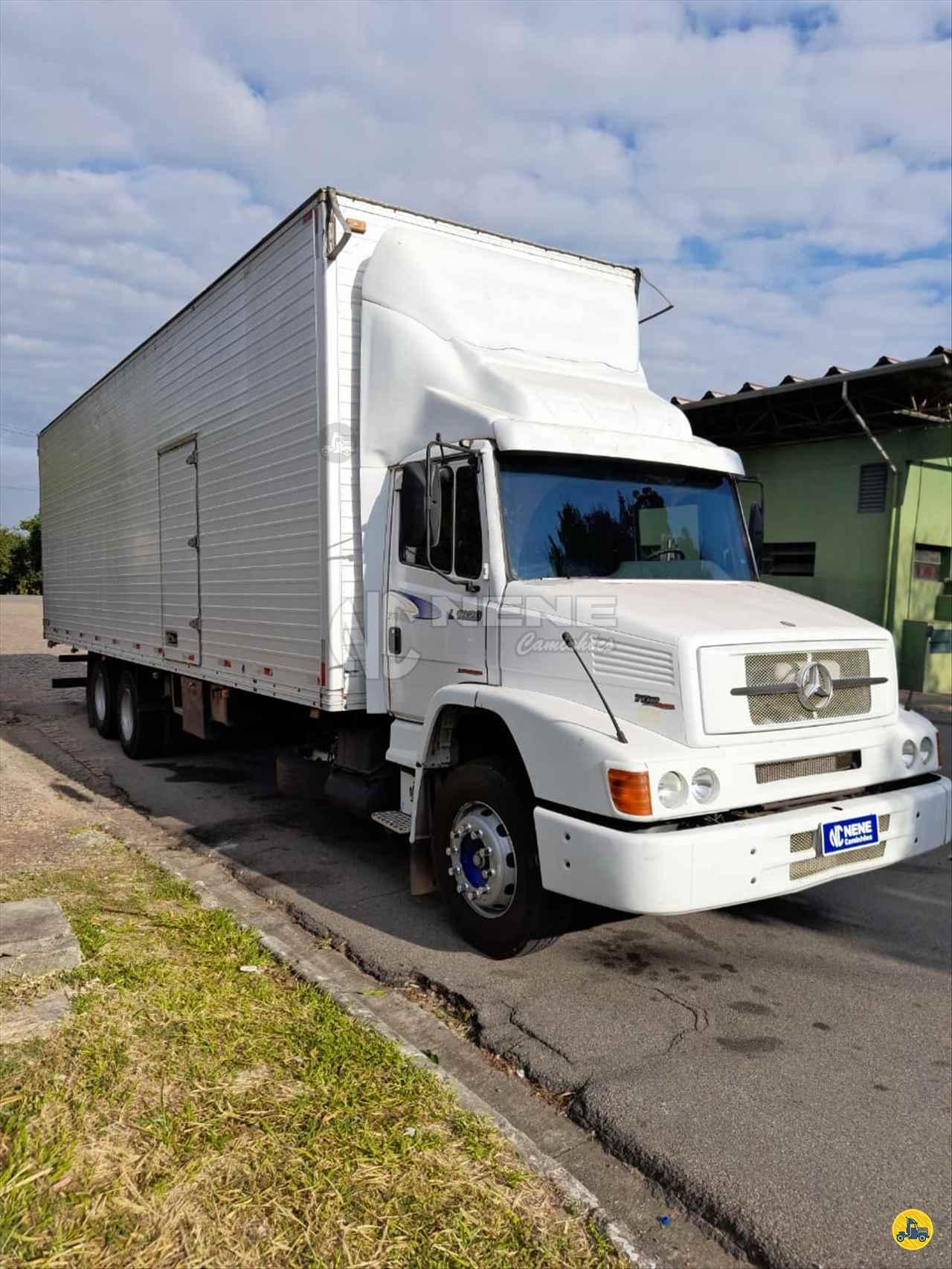 CAMINHAO MERCEDES-BENZ MB 1620 Baú Furgão Truck 6x2 Nene Caminhões SAO JOAO DA BOA VISTA SÃO PAULO SP