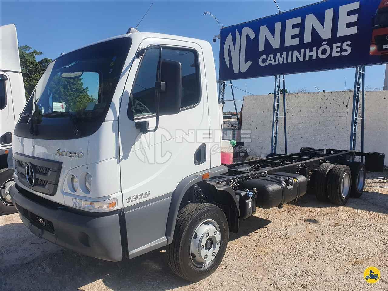 CAMINHAO MERCEDES-BENZ MB 1316 Chassis 3/4 6x2 Nene Caminhões SAO JOAO DA BOA VISTA SÃO PAULO SP