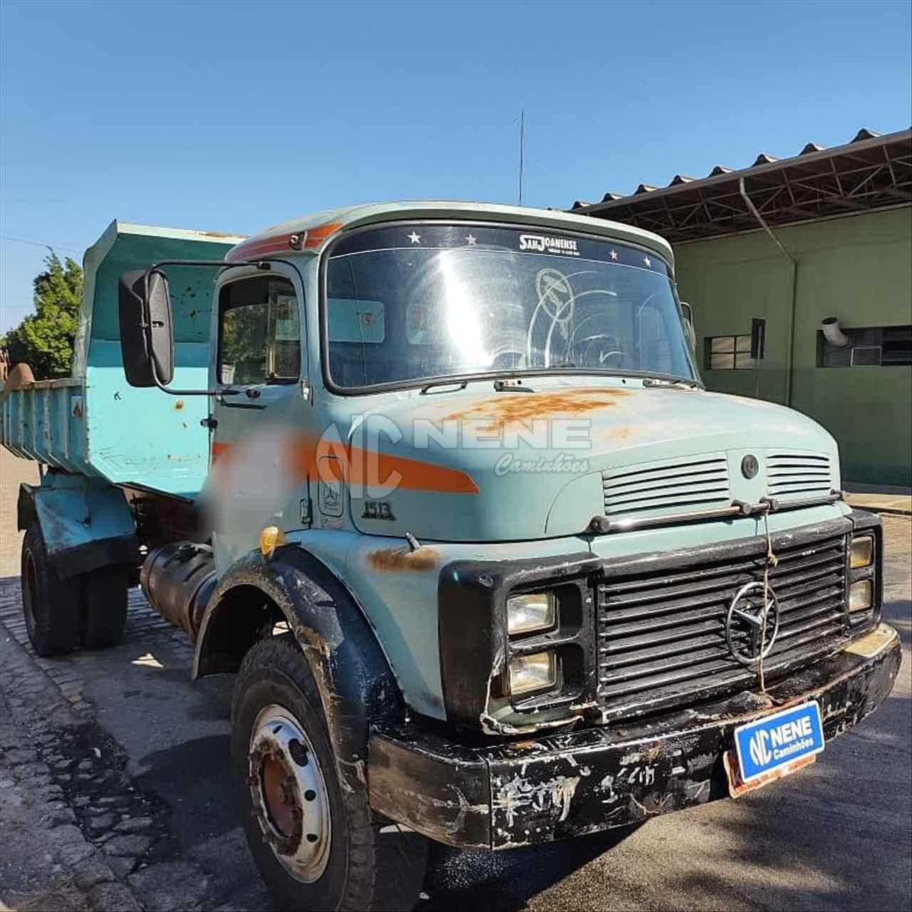 CAMINHAO MERCEDES-BENZ MB 1513 Caçamba Basculante Toco 4x2 Nene Caminhões SAO JOAO DA BOA VISTA SÃO PAULO SP