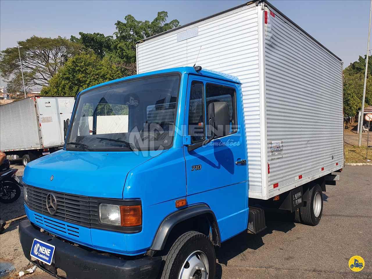 CAMINHAO MERCEDES-BENZ MB 710 Baú Furgão 3/4 4x2 Nene Caminhões SAO JOAO DA BOA VISTA SÃO PAULO SP