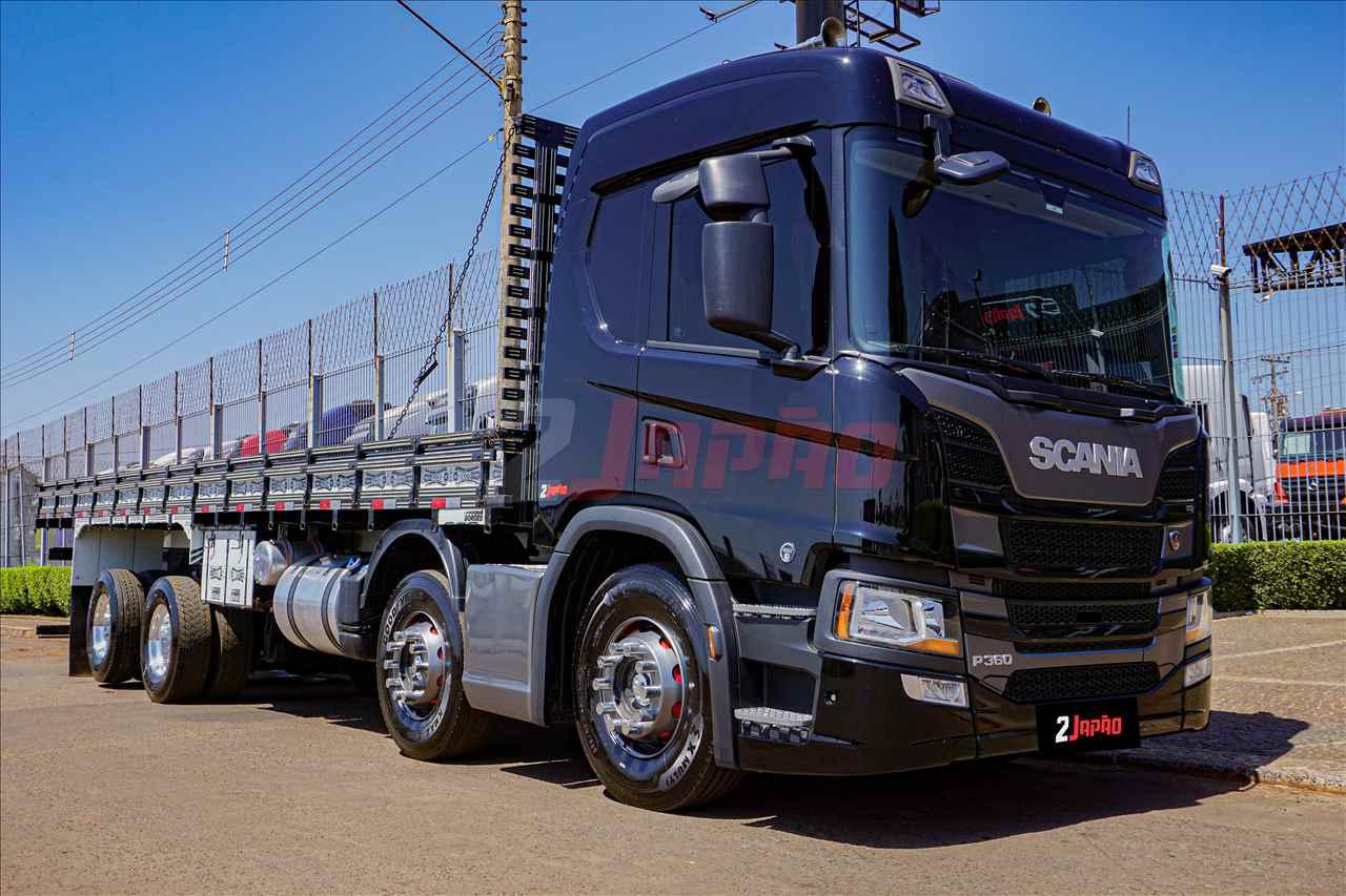 SCANIA P360 de 2 Japão Caminhões e Carretas - SUMARE/SP
