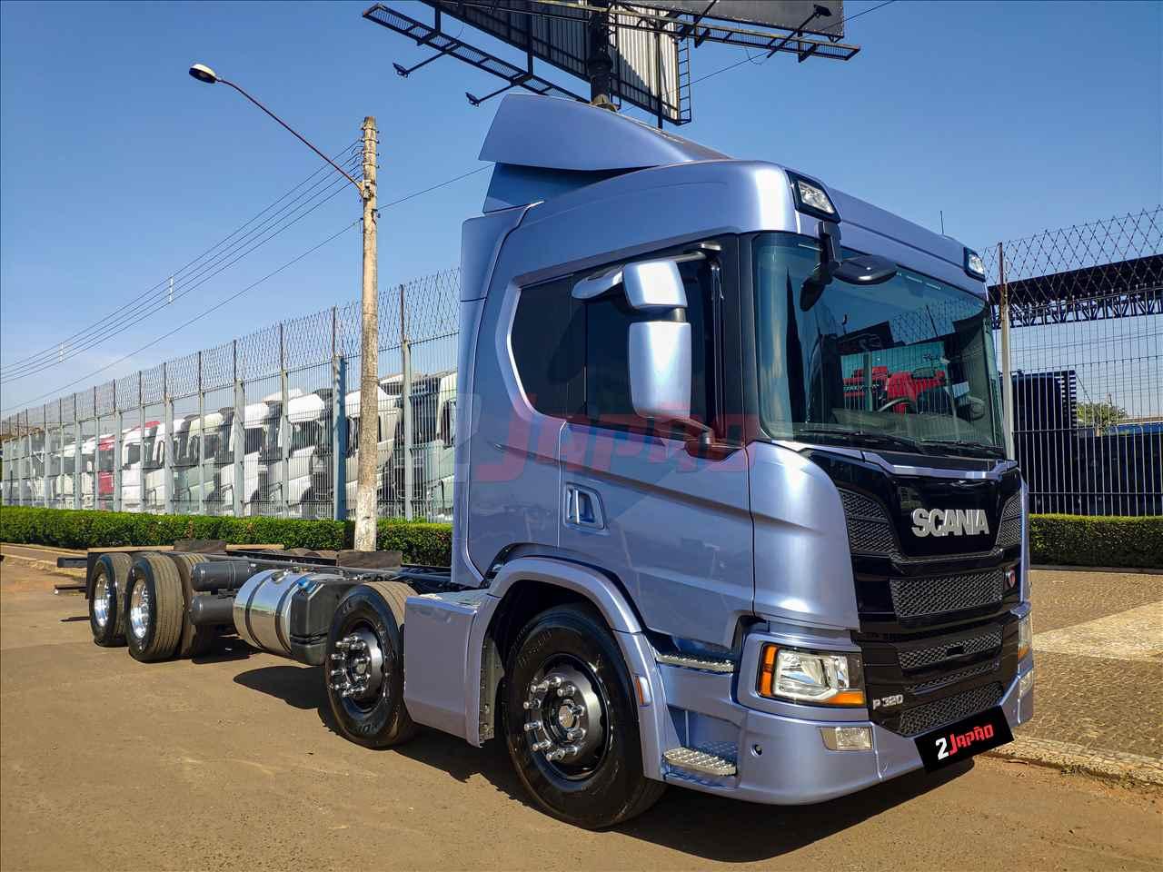 SCANIA 320 de 2 Japão Caminhões e Carretas - SUMARE/SP