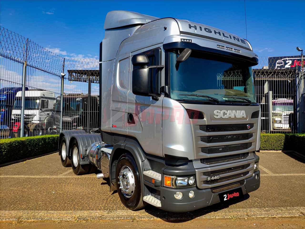 SCANIA 440 de 2 Japão Caminhões e Carretas - SUMARE/SP