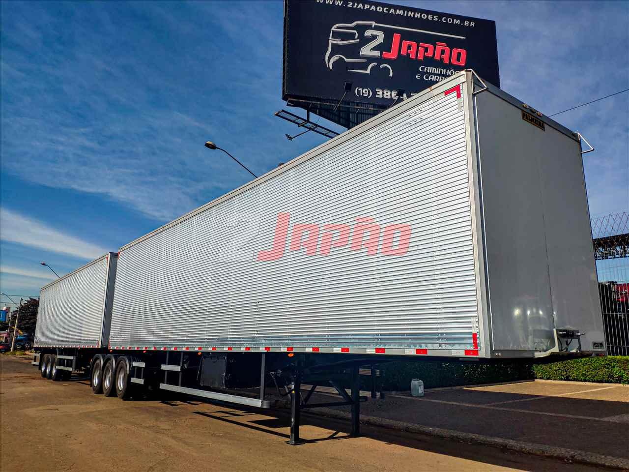 CARRETA BITREM 9 EIXOS BAU FURGAO 2 Japão Caminhões e Carretas SUMARE SÃO PAULO SP