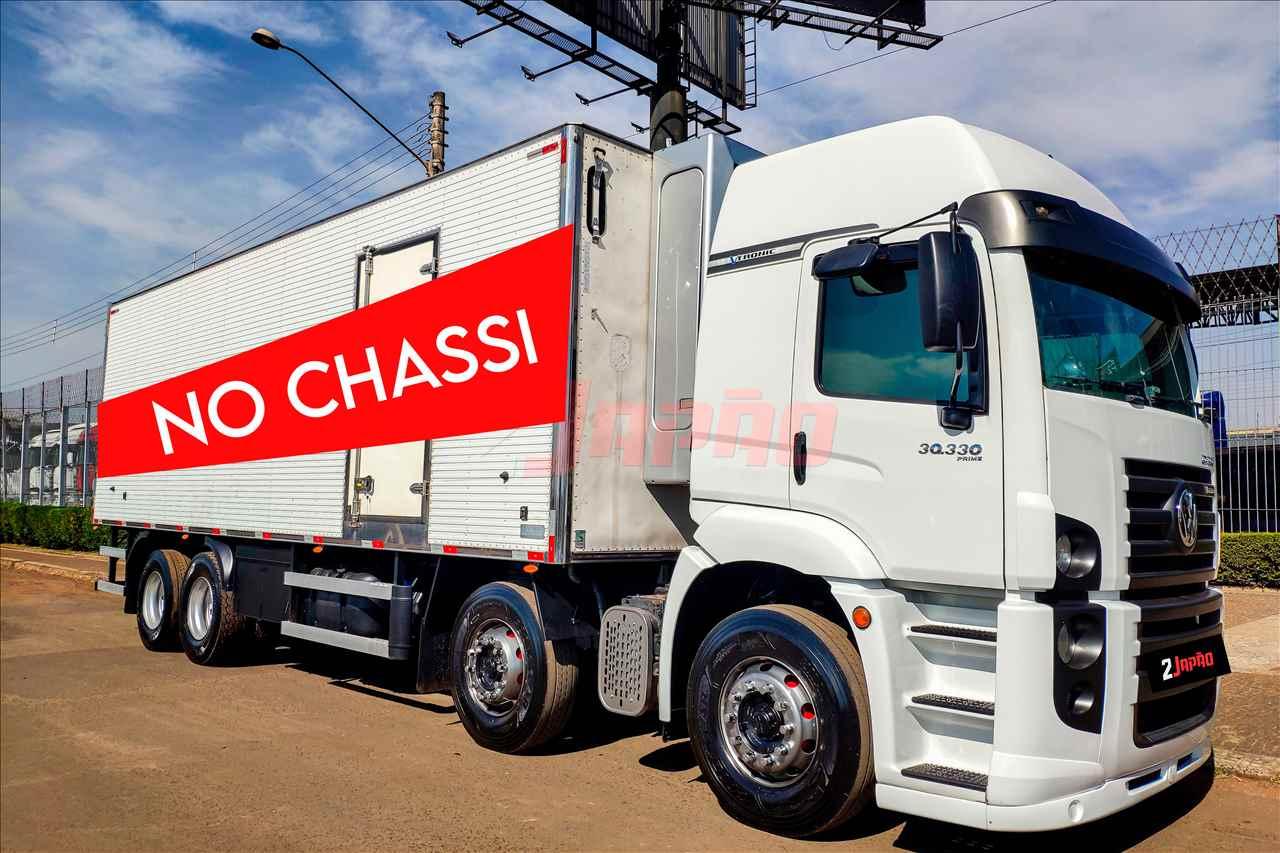 CAMINHAO VOLKSWAGEN VW 30330 Chassis BiTruck 8x2 2 Japão Caminhões e Carretas SUMARE SÃO PAULO SP