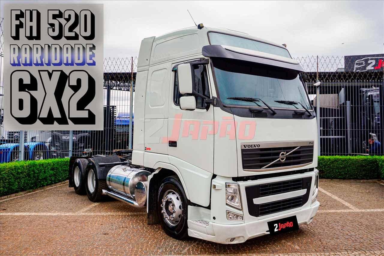 CAMINHAO VOLVO VOLVO FH 520 Cavalo Mecânico Truck 6x2 2 Japão Caminhões e Carretas SUMARE SÃO PAULO SP