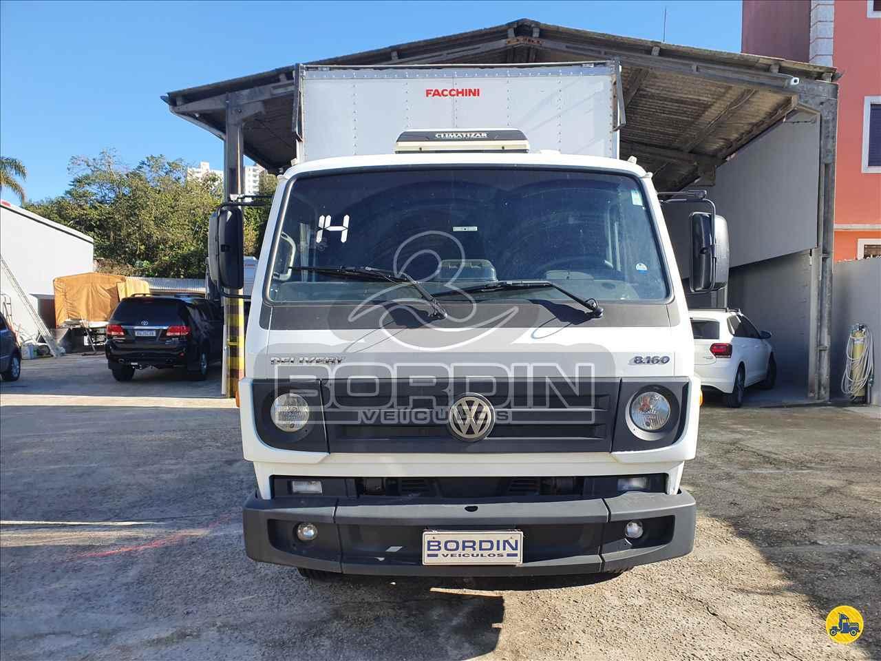 CAMINHAO VOLKSWAGEN VW 8160 Baú Furgão 3/4 4x2 Bordin Veículos SAO BERNARDO DO CAMPO SÃO PAULO SP