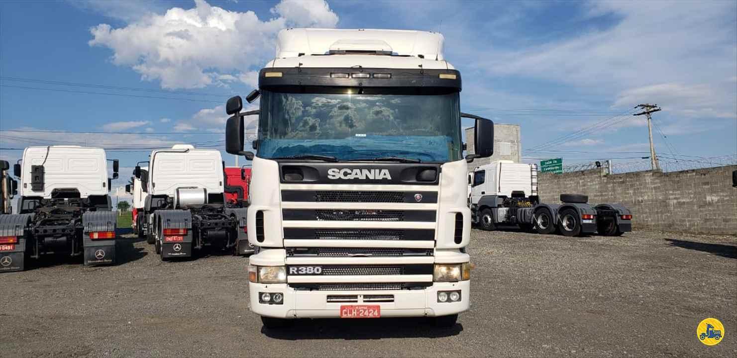 CAMINHAO SCANIA SCANIA 114 380 Cavalo Mecânico Truck 6x2 Rebocks LIMEIRA SÃO PAULO SP