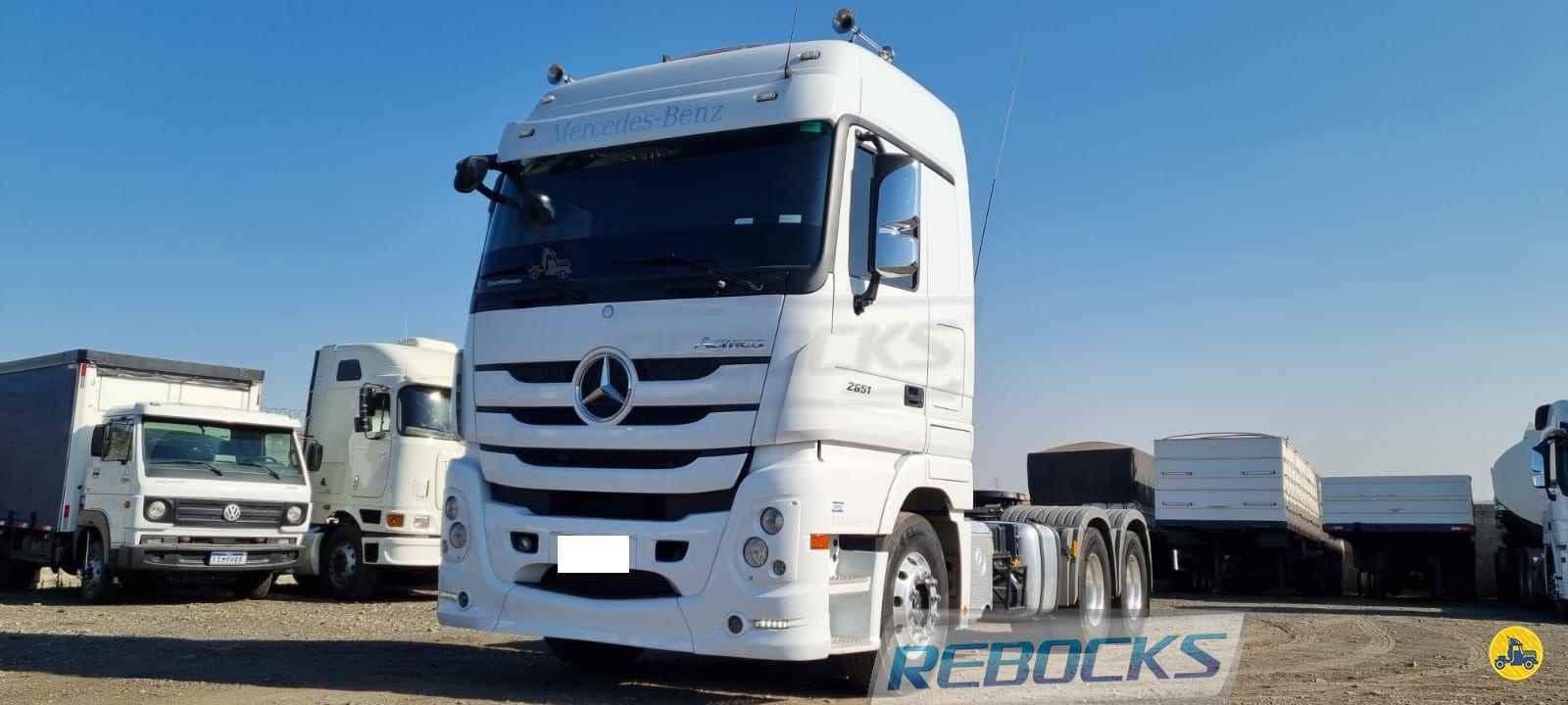 CAMINHAO MERCEDES-BENZ MB 2651 Cavalo Mecânico Traçado 6x4 Rebocks LIMEIRA SÃO PAULO SP
