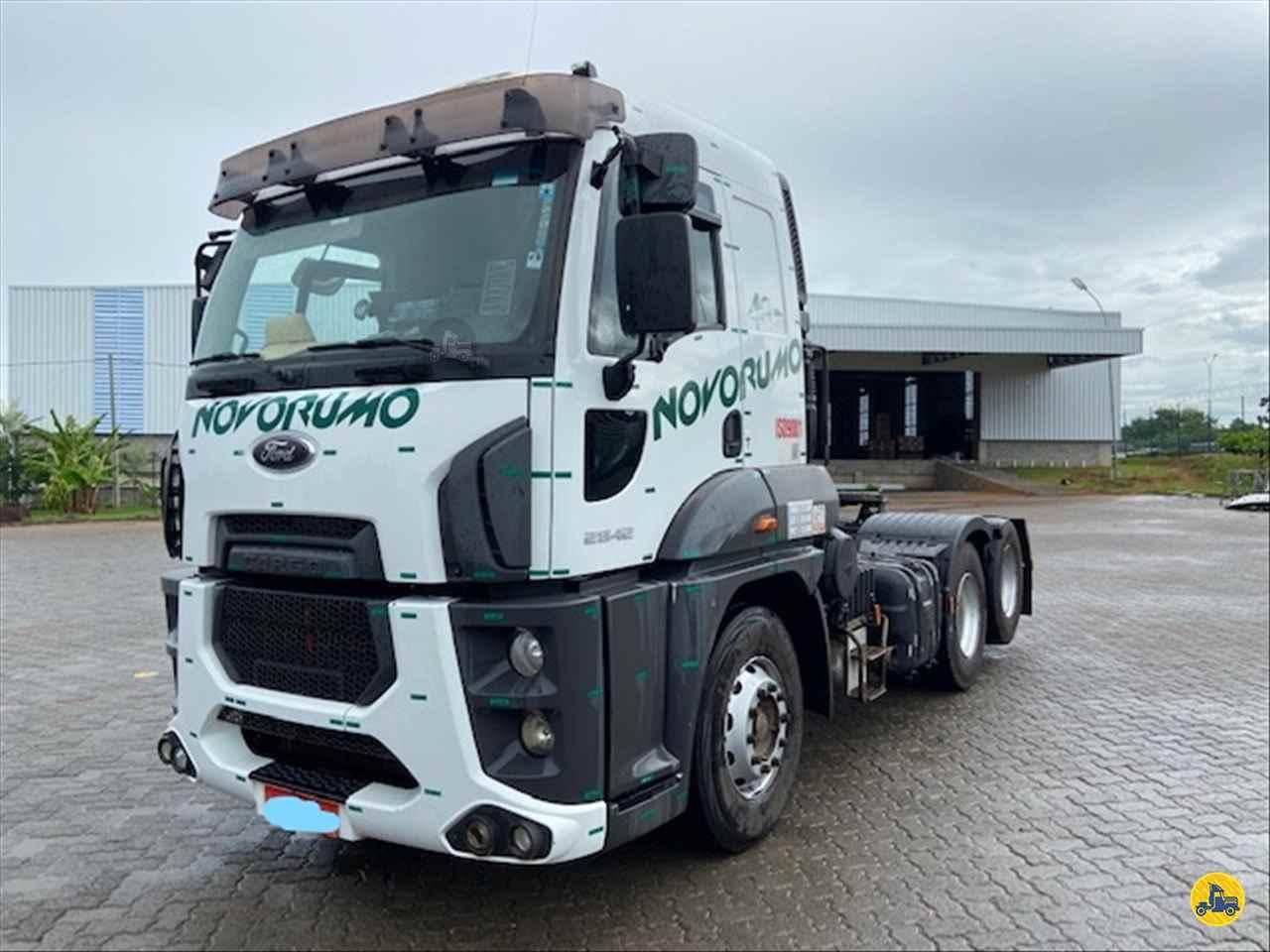 CAMINHAO FORD CARGO 2842 Cavalo Mecânico Truck 6x2 Novo Rumo Transportes  LIMEIRA SÃO PAULO SP