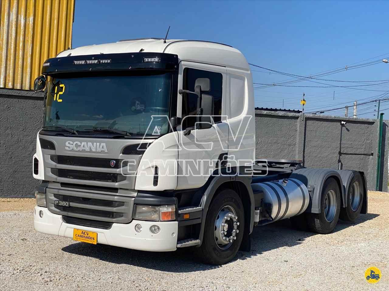 CAMINHAO SCANIA SCANIA P360 Cavalo Mecânico Truck 6x2 ACV Caminhões CURITIBA PARANÁ PR