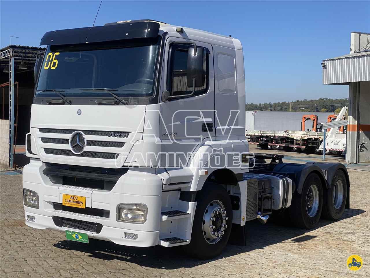 CAMINHAO MERCEDES-BENZ MB 2540 Cavalo Mecânico Truck 6x2 ACV Caminhões CURITIBA PARANÁ PR