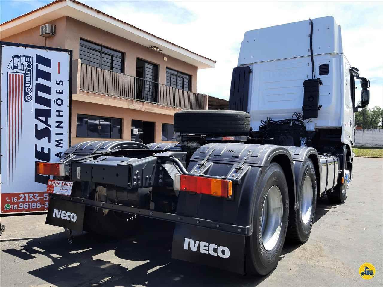 IVECO STRALIS 440 127956km 2019/2019 De Santi Caminhões