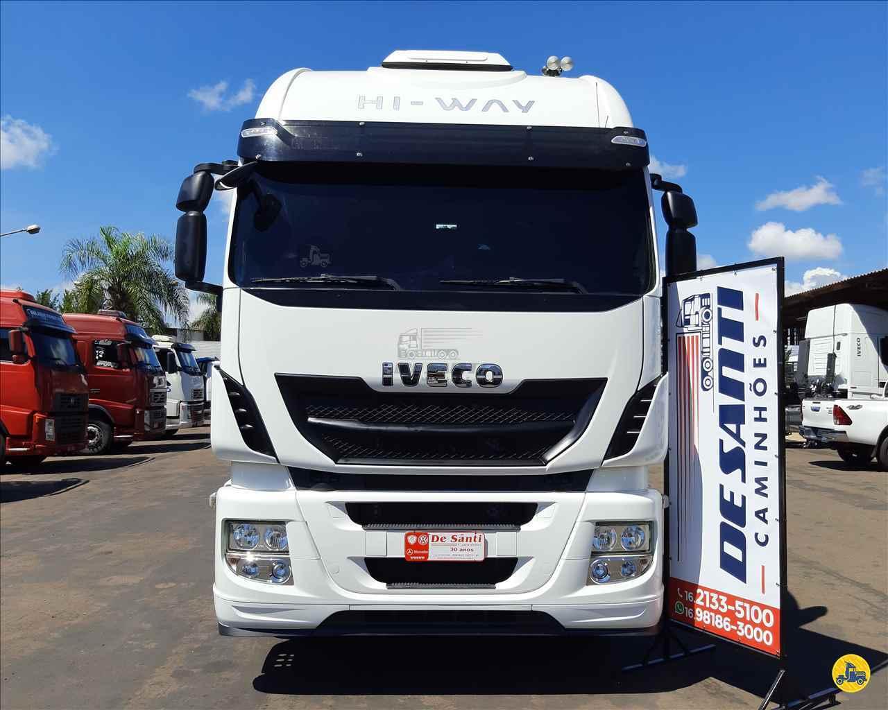 IVECO STRALIS 440 118999km 2019/2019 De Santi Caminhões