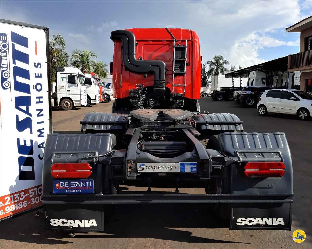 SCANIA SCANIA 124 420 117573km 2009/2010 De Santi Caminhões
