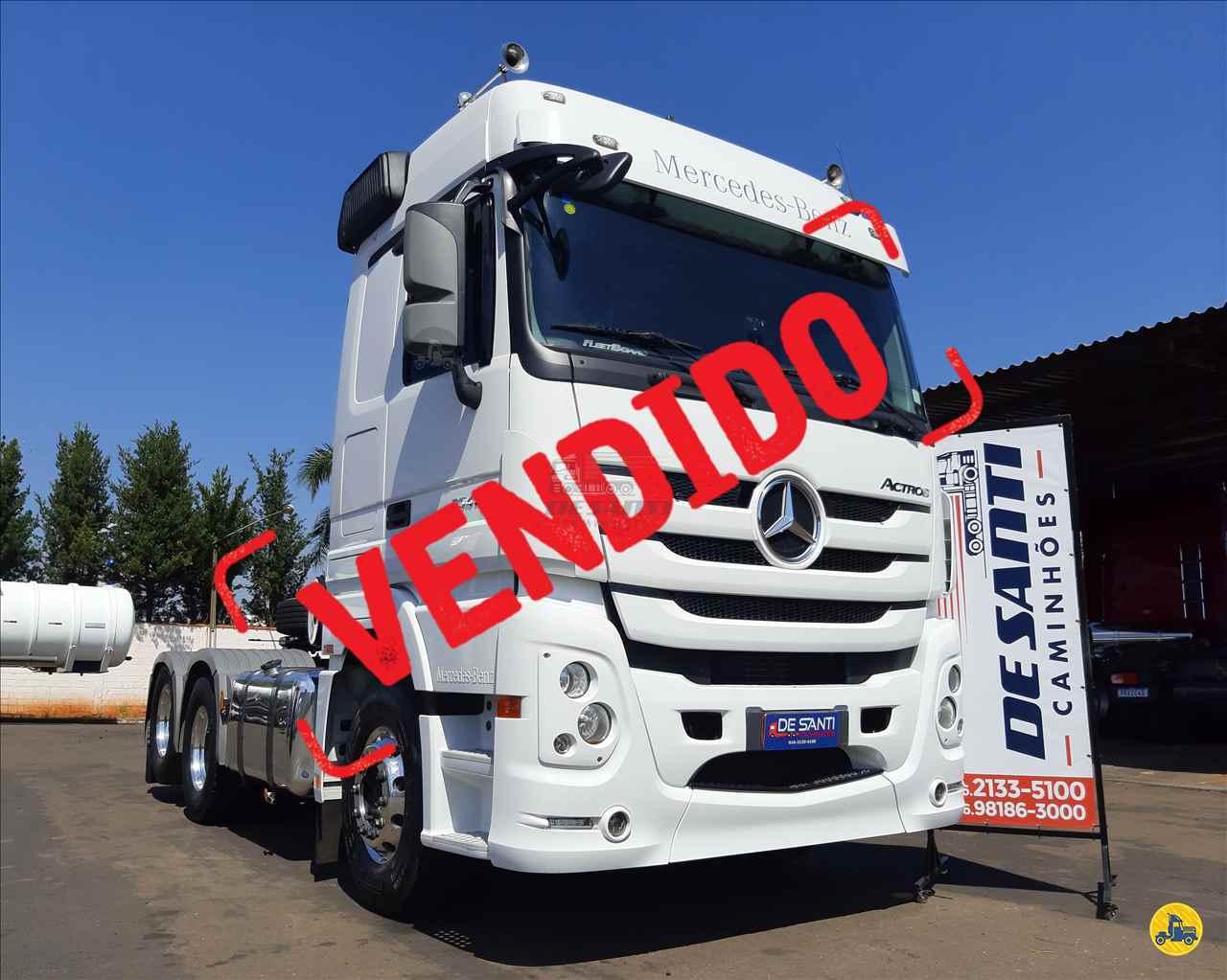 CAMINHAO MERCEDES-BENZ MB 2546 Cavalo Mecânico Truck 6x2 De Santi Caminhões RIBEIRAO PRETO SÃO PAULO SP