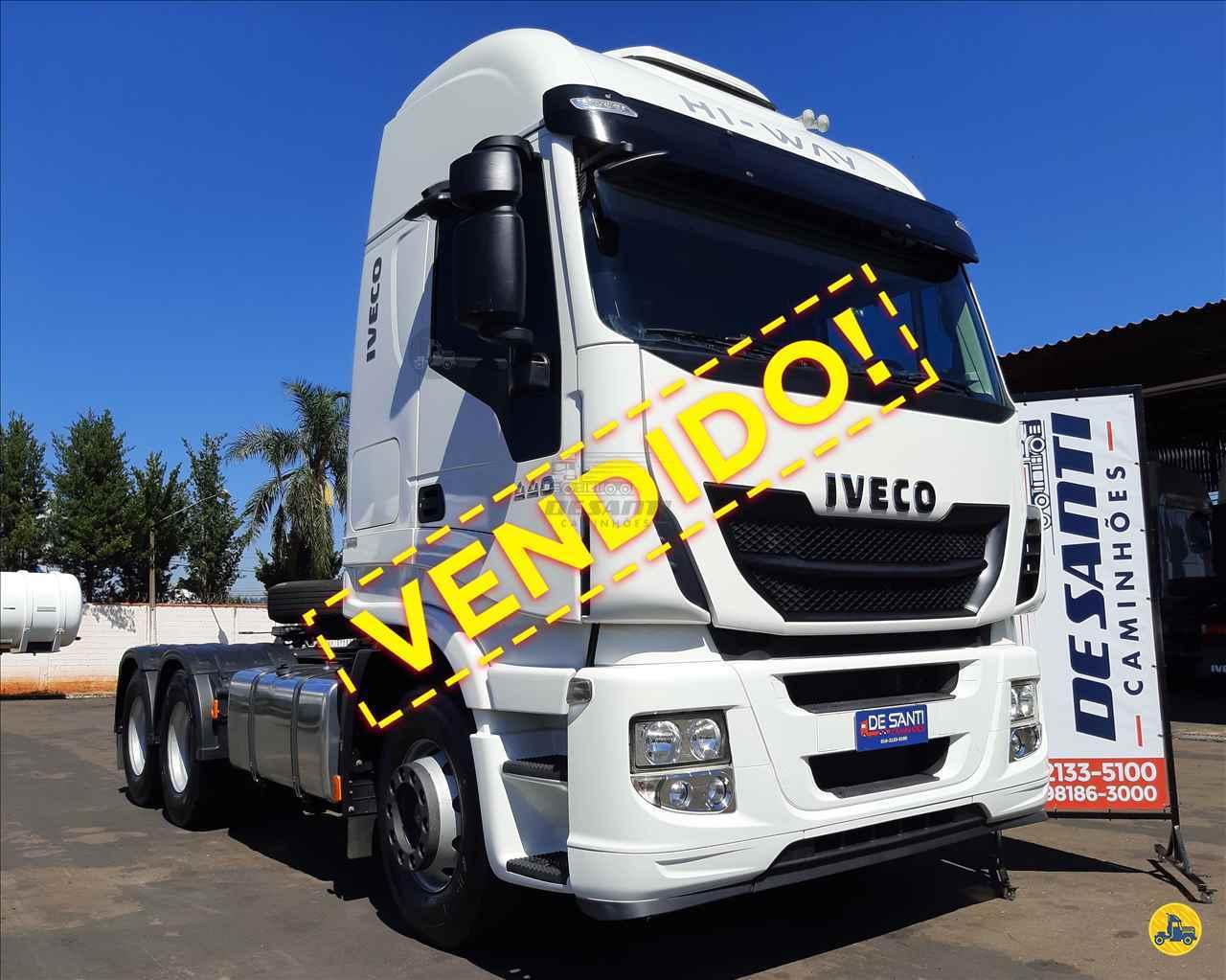 CAMINHAO IVECO STRALIS 440 Cavalo Mecânico Truck 6x2 De Santi Caminhões RIBEIRAO PRETO SÃO PAULO SP