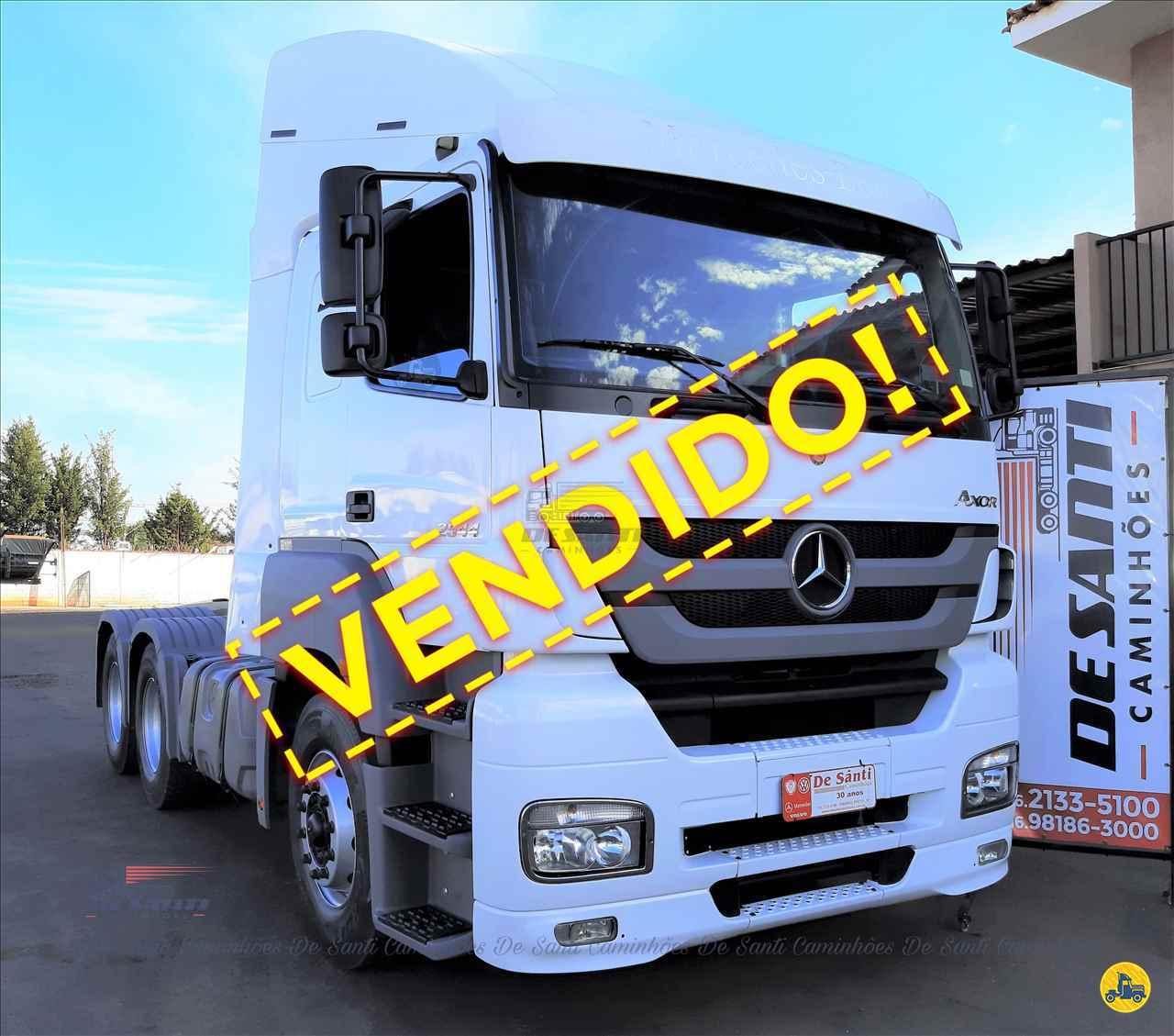CAMINHAO MERCEDES-BENZ MB 2544 Cavalo Mecânico Truck 6x2 De Santi Caminhões RIBEIRAO PRETO SÃO PAULO SP