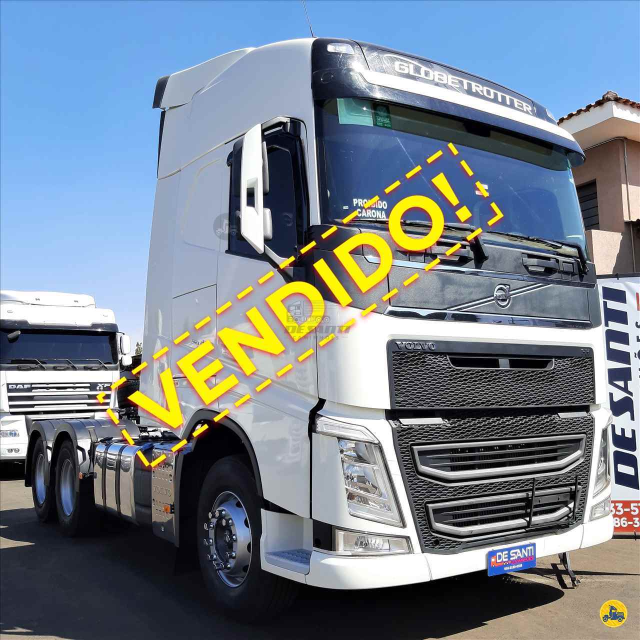 CAMINHAO VOLVO VOLVO FH 460 Cavalo Mecânico Truck 6x2 De Santi Caminhões RIBEIRAO PRETO SÃO PAULO SP