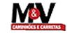 M&V Caminhões e Carretas logo