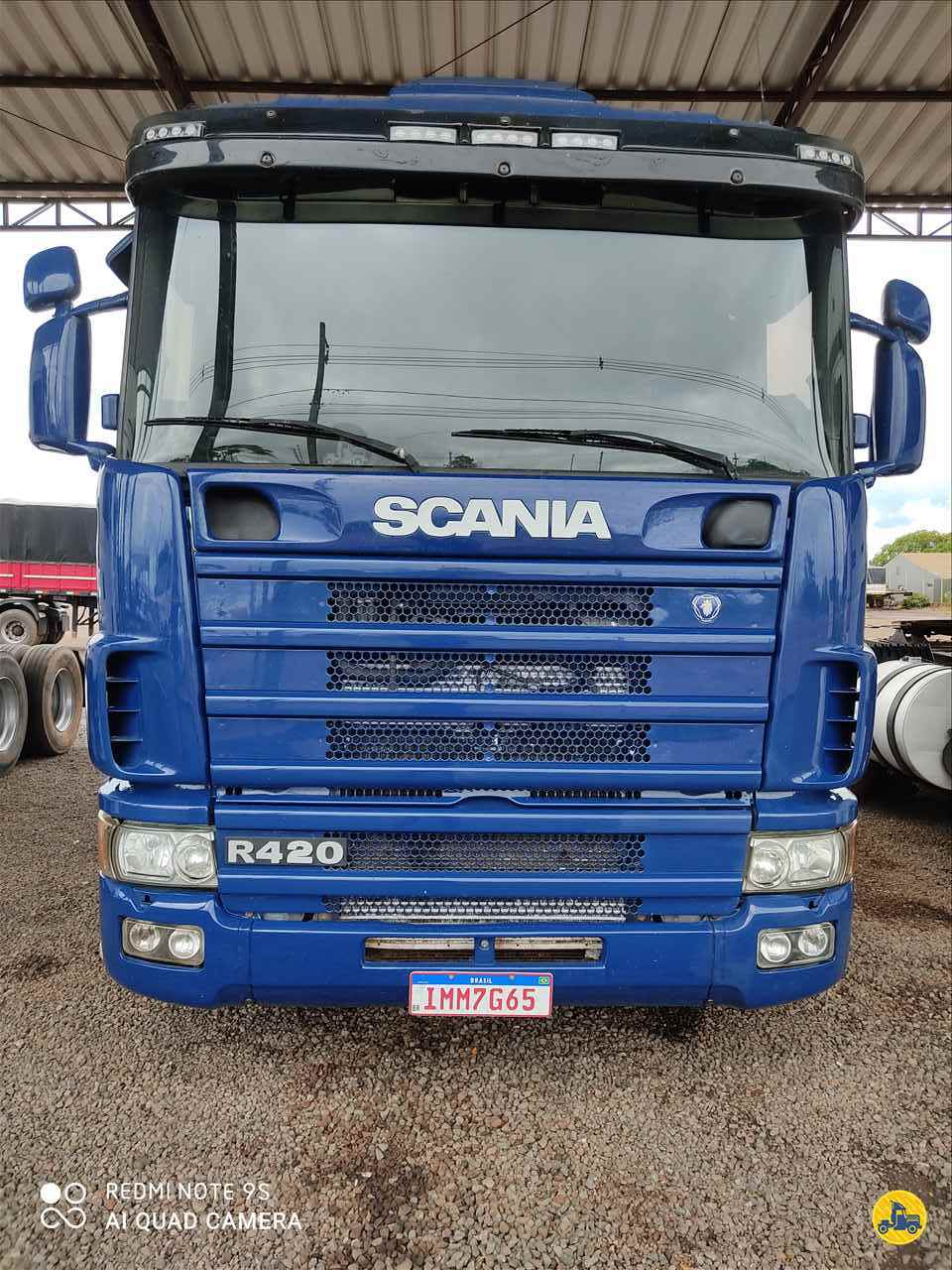 SCANIA SCANIA 124 420 0km 2005/2005 Rodomati Caminhões