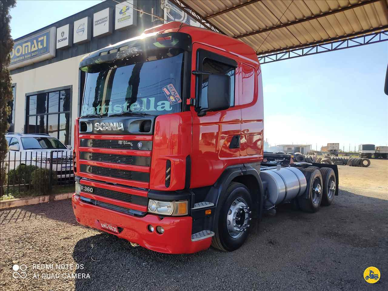 CAMINHAO SCANIA SCANIA 124 360 Cavalo Mecânico Truck 6x2 Rodomati Caminhões PARANAVAI PARANÁ PR