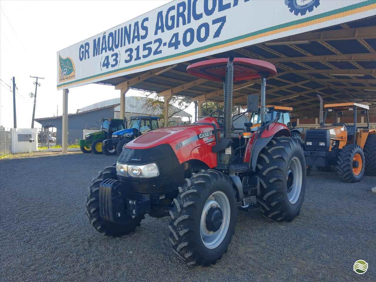 CASE Farmall 80 de GR Máquinas Agrícolas - ARAPONGAS/PR