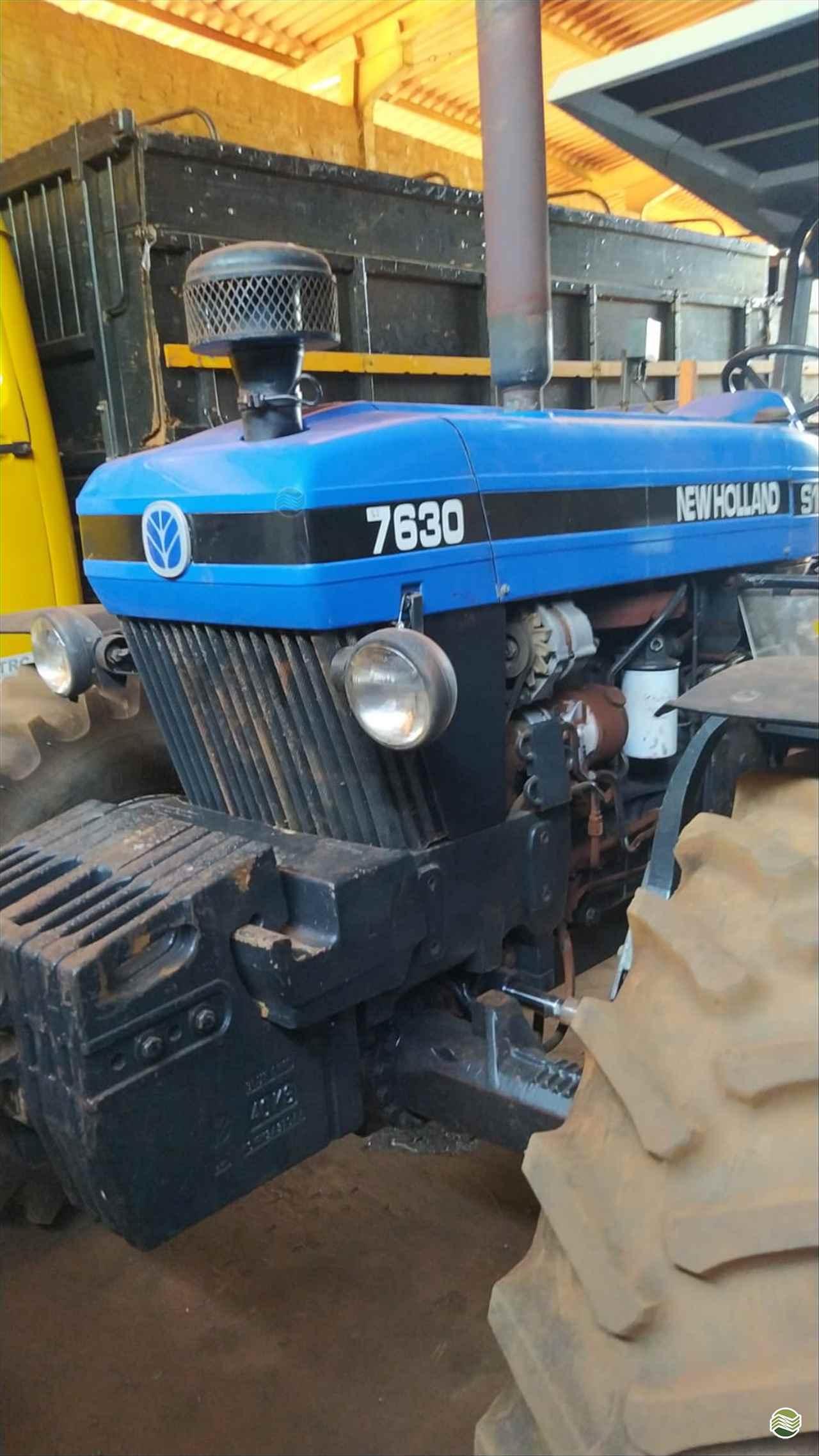 TRATOR NEW HOLLAND NEW 7630 Tração 4x4 Zanella Tratores CAMPO MOURAO PARANÁ PR