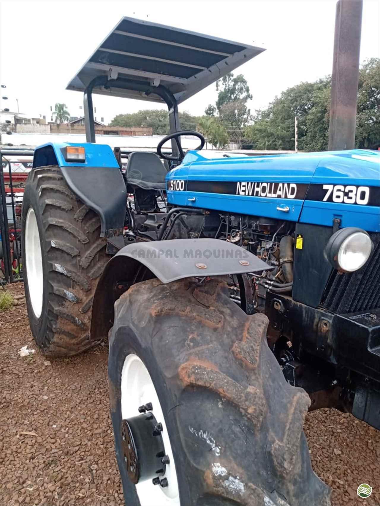 TRATOR NEW HOLLAND NEW 7630 Tração 4x4 Campal Máquinas CAMPO MOURAO PARANÁ PR
