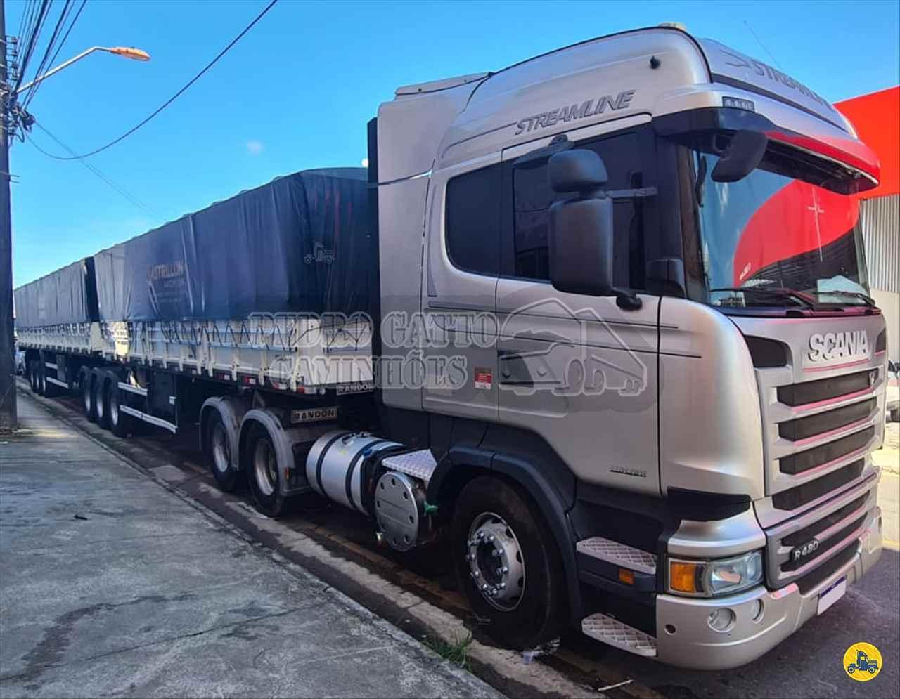 CAMINHAO SCANIA SCANIA 480 Cavalo Mecânico Traçado 6x4 Pedro Gatto Caminhões MARINGA PARANÁ PR