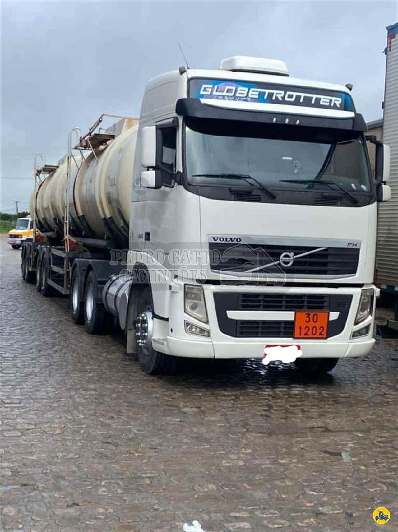 CAMINHAO VOLVO VOLVO FM 440 Tanque Inox Truck 6x2 Pedro Gatto Caminhões MARINGA PARANÁ PR